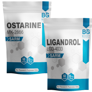 Ostarine and Ligandrol Stack